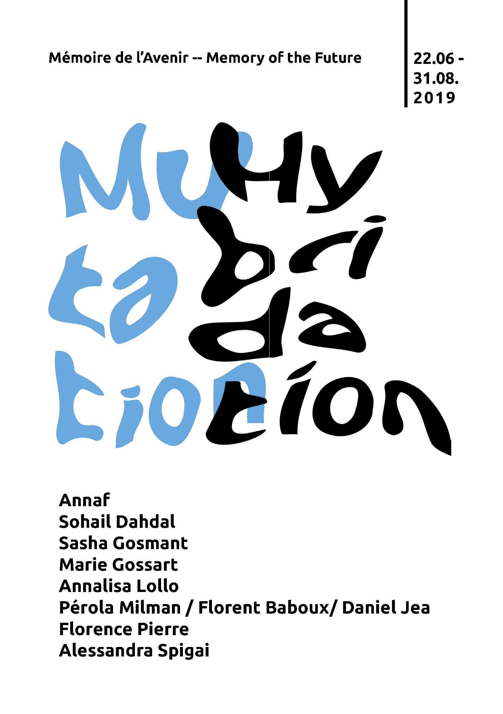 invitation MUTATION HYBRIDATION